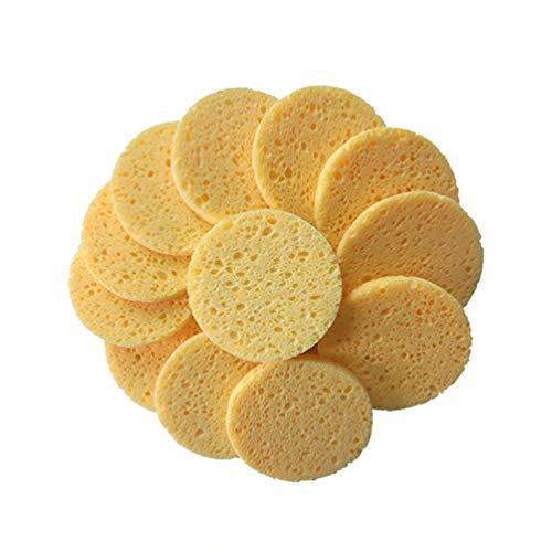 Healifty 50 piezas esponja esponja depurador celulosa