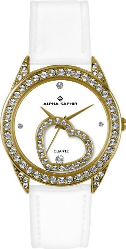 Alpha Saphir Damen-Uhren Quarz  Analog 324D