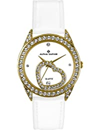 Alpha Saphir Damen-Uhren Quarz  Analog 324D