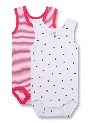 Set Kurzer Arm (Sanetta Baby-Mädchen Set Formender Body, Weiß (White 10), 62 (Herstellergröße: 062))