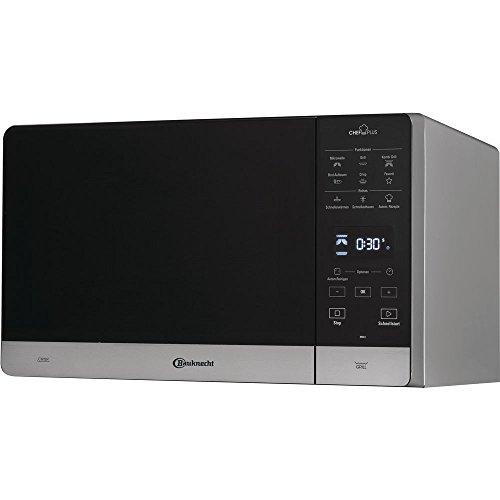 Bauknecht MW 45 SL Mikrowellen / 0.1kWh/Jahr / 1750.0Watt / 25.0 L / Auftaufunktion / Aufwärmfunktion / schwarz / silber