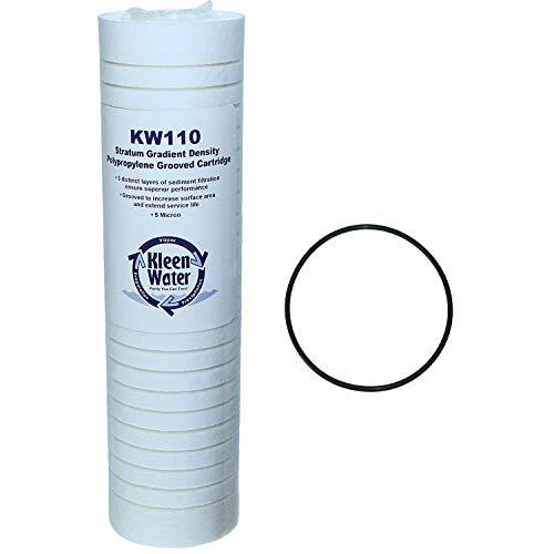 ap101t O-Ring und Ersatz Wasser Filter Kartusche Kit von kleenwater (Ganze Aquapure Haus Filter)