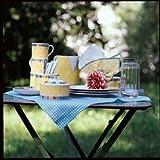 Villeroy & Boch Twist Alea Limone Cappuccino-Untertasse, 17 cm, Premium Porzellan, Weiß/Gelb