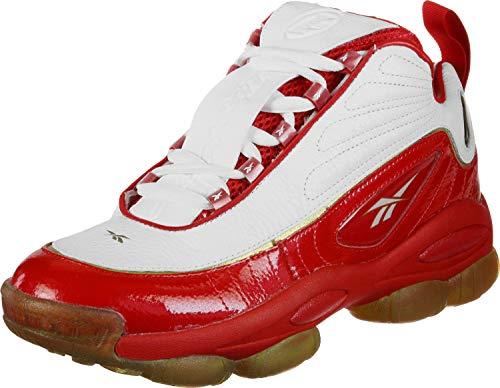 Reebok Unisex-Erwachsene Iverson Legacy Basketballschuhe, Mehrfarbig Red/White/Black Brass 000, 44.5 EU