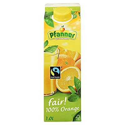 Pfanner Fairtrade Orangensaft 100 %, 1l
