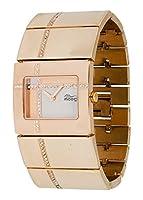 Moog Paris - Mondrian - Reloj para Mujer - Dial color Blanco - Correa Oro rosa en Acero inoxidable - - Hecho en Francia - M44374-006 de Hexagone