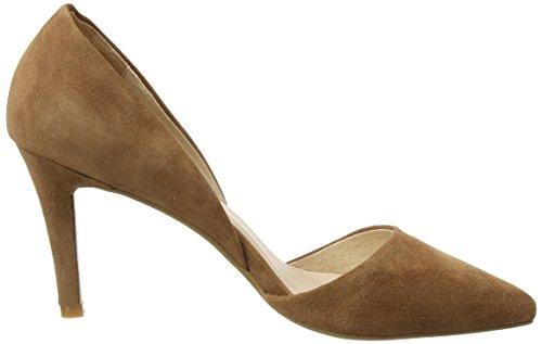 Sofie Schnoor Suede Stiletto, Chaussures à talons - Avant du pieds couvert femme Marron - Braun (earth)