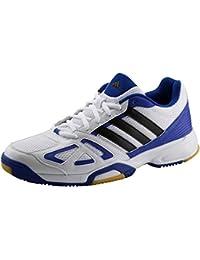 Adidas 11Nova FG - Zapatillas de fútbol para hombre, Black 1/Running White/Solar Blue2 S14, 40 EU (6.5)
