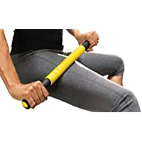 Sklz Massage - Barra con Peso para Fitness, Color Amarillo