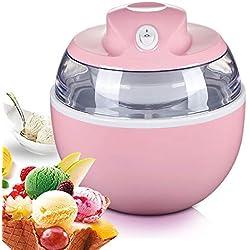 Crème glacée Faire, Gelato Sorbet Et Yaourt Glacé Machine DIY Fait maison cône de crème glacée c