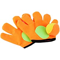 TOYANDONA Pelota de Tenis Guante Magic Catch Guante Set Magic Stick Rack para niños Deporte al Aire Libre Juego