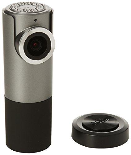 Goluk T1 - Mini cámara de salpicadero de coche con tarjeta microSD de 32 GB, visión nocturna y sensor G, color gris