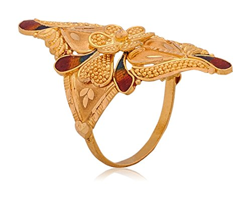 Senco Gold Aura Collection 22k Yellow Gold Ring Price In India