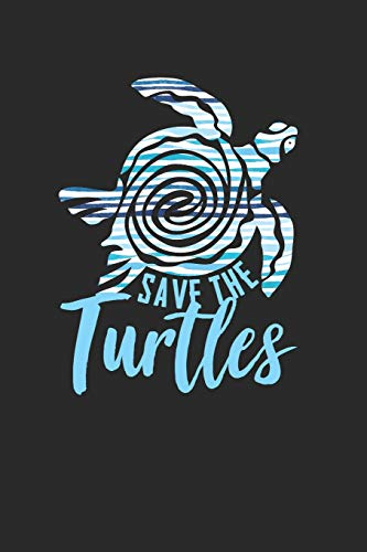 Save The Turtles: Graph Paper Notebook - Gift For Turtle Fans