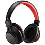 Mpow Cuffie Bluetooth H1 4.1 Over-Ear, Auricolari Bluetooth CSR Pieghevole Ergonomico con Microfono, Riduzione del Rumore Interno Cuffie Bluetooth Durata di 20 Ore per Smartphone e PC, Rosso