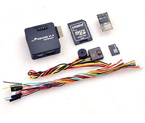 BGNing Mini Pixracer Autopilot X Racer FMU V4 V1.0 PX4 Flight Controller Board für DIY FPV Drone 250 RC Quadcopter Multicopter (Schwarz)