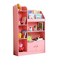 SUPRIEE-HM Children Bookcase Book Shelf Multi-Function Bookshelf Children