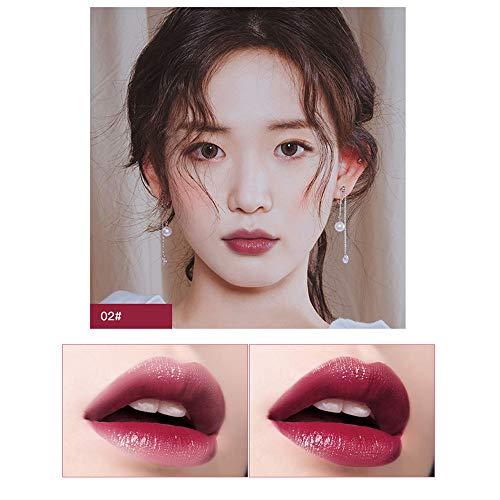 Aktionspreis,Lippenstift,PorLous Neu Beliebt Schönheit Makeup Bright Feuchtigkeitsspendender...