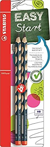 STABILO EASYgraph Handwriting Pencil Right Handed - Pack of