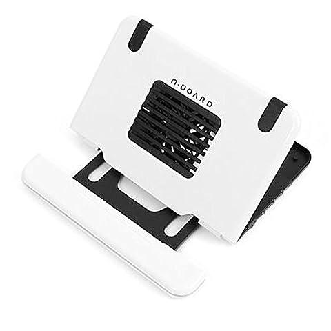 nboard nb-2000Laptop Notebook Kühler 4Port USB 14der Schritt Winkel Kontrolle