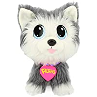 Rescue Runts-18052 Peluche Husky, Multicolor (Bandai 18052)