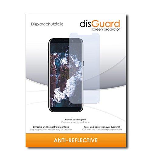 disGuard® Bildschirmschutzfolie [Anti-Reflex] kompatibel mit Bluboo S8 [2 Stück] Entspiegelnd, Matt, Antireflektierend, Extrem Kratzfest, Anti-Fingerabdruck - Panzerglas Folie, Schutzfolie