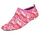 Strandschuhe, Sunday Wasserschuhe Surfschuhe Schwimmschuhe für Damen Herren Kinder Outdoor Wassersport Tauchen Yoga Socken Strand Schuhe Laufband Schuhe (Rot, XXXL)