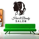 Sticker Mural Jeux Video Salon De Coiffure Chambre Canapé Fond Coupe De Cheveux Décoration Amovible Autocollant De Mode Pvc Mur Autocollant 50 * 59Cm