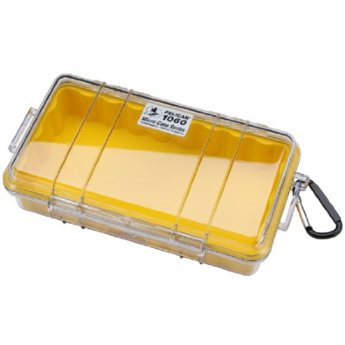 Pelican 1060 Micro Dry Case for Snorkelers and Kayakers - Yellow