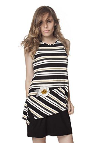 Mamatayoe Silvano, Vestido Casual para Mujer, Multicolor, XL