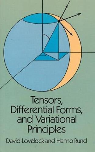 Tensors, Differential Forms and Variational Principles (Dover Books on Mathematics) por David Lovelock