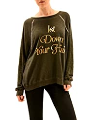 Wildfox Mujer Let Down Your Hair Jumper