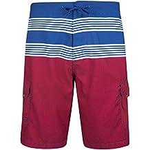 Mountain Warehouse Pantalón corto para actividades acuáticas a rayas Ocean para hombre