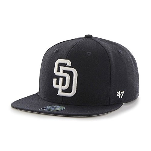 47-mlb-san-diego-padres-sure-shot-47-captain-baseball-beretto-unisex-blu-navy-unica