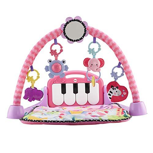 Fisher-Price BMH48 Kick und abspielen Piano Gym mit Musik, rosa