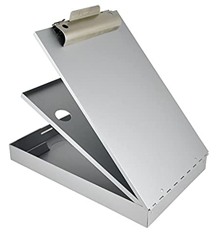 Saunders CruiserMate 21017 Storage Clipboard for Forms 23 x 34.5 cm with Twin Compartments / Opens Downwards /