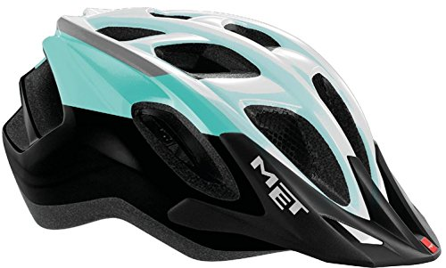 MET Fahrradhelm m3hm102s0vb2, S, grün–schwarz, Unisex
