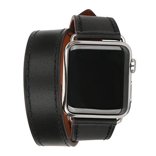 Apple Watch Armband, EH HE 42mm Mode Ersatzband Armband mit Metall-Adapter-Verschluss für...