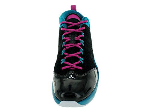 Jordan Flight Time 14.5 Chaussures de basket Black/White/Trpcl Teal/Fsn Pnk