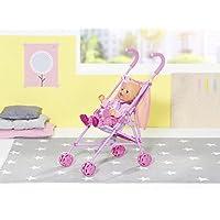 Zapf Creation 826485 Baby Born Stroller con funda