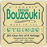 Daddario J81 Irish Bouzouki - Jeu De Cordes