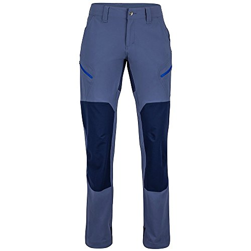 Marmot WM S Liman Tour pantss Pantaloni Lunghi, Donna, Wm's Limantour Pantss, Monsoon/Arctic Navy, 10