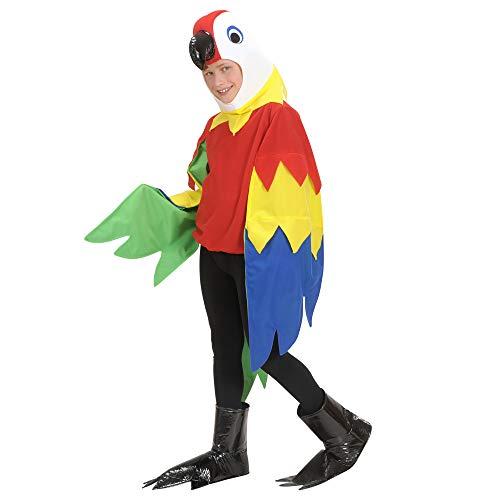 Widmann - Kinderkostüm Papagei (Papagei Kostüm Mädchen)