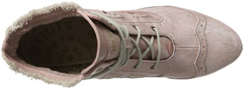 Mustang Damen 1187-502 Combat Boots Rot (555 rose)
