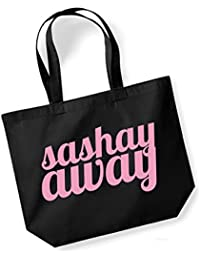 Kelham Print Sashay Away vs Shante You Stay - Double Sided - Large Canvas Fun Slogan