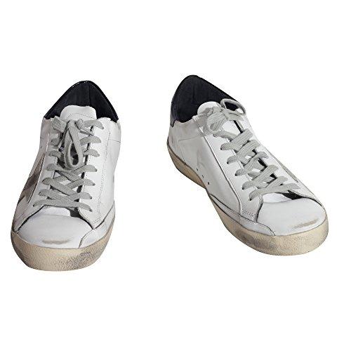 Golden Goose, Chaussures basses pour Homme Blanc, noir