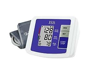 JSB DBP05 Arm Blood Pressure Monitor (White-Blue)