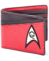 Star Trek Bi-Fold Engineering Logo Wallet (Red)