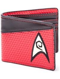 Star Trek Bi-Fold Engineering Logo Wallet (Red)