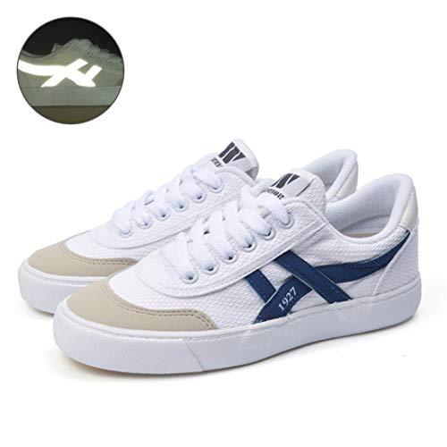 CAI&HONG-Domestics GCC Scarpe da Uomo Scarpe da Tennis Sneakers Scarpe di Tela, C, 36